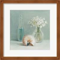 Framed White Flower Spa