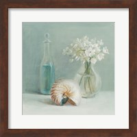 Framed White Flower Spa
