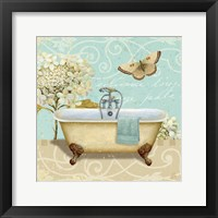 Framed Light Breeze Bath I