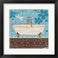 Eco Motif Bath II Framed Print