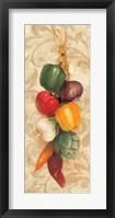 Mixed Vegetables I Framed Print