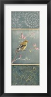 Framed Female Goldfinch