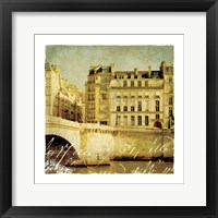 Golden Age of Paris III Framed Print