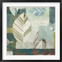 Framed Be Leaves IV