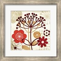 Framed Floral Pop II