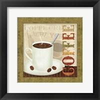 Framed Coffee Cup III