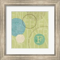 Framed Circle of Words - Friends