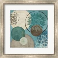 Framed Flora Mood I