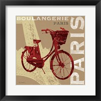Framed Cycling in Paris