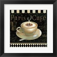 Framed Cafe Parisien III