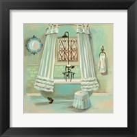 Framed Glass Tile Bath II