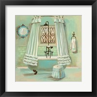 Framed Glass Tile Bath II