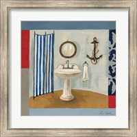 Framed Nautical Bath I
