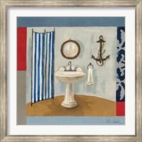 Framed Nautical Bath I