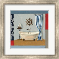 Framed Nautical Bath II