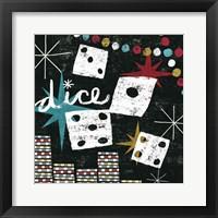 Framed Vegas - Dice