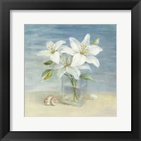 Framed Lilies and Shells