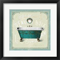 Framed Parisian Bath IV