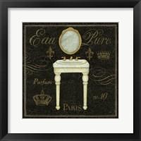 Framed Bain De Luxe IV