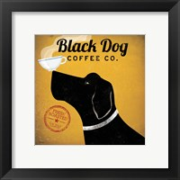 Framed Black Dog Coffee Co.