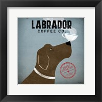 Framed Labrador Coffee Co.