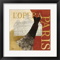Framed Paris Dress - L' Opera