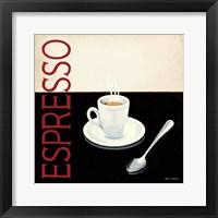 Framed Cafe Moderne IV