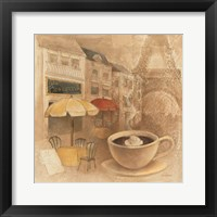 Cafe de Paris II Framed Print