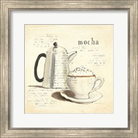 Framed Parisian Coffee I