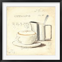 Framed Parisian Coffee IV