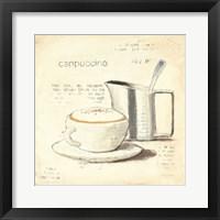 Parisian Coffee IV Framed Print