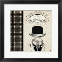 Framed Gentleman I
