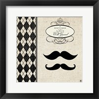 Framed Gentleman II
