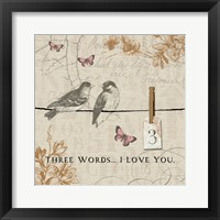 Framed Words that Count III
