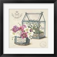 Framed Bouquet Naturel II