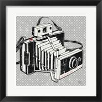 Framed Vintage Analog Camera