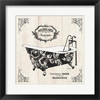 French Bath II - Tub Framed Print