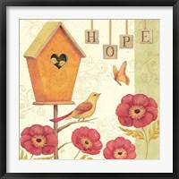 Framed Welcome Home III