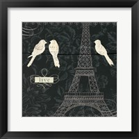 Framed Love Paris I