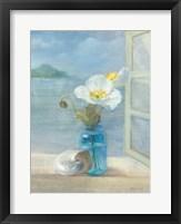 Framed Coastal Floral II