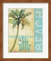Framed Ocean Beach I