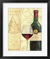Wine Passion I Framed Print