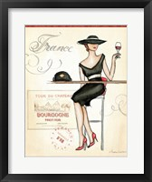Wine Event III Framed Print