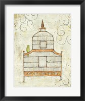 Bird Cage III Framed Print