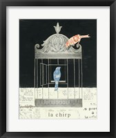 Framed La Chirp
