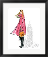 Colorful Fashion I - London Framed Print
