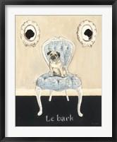 Framed Le Bark