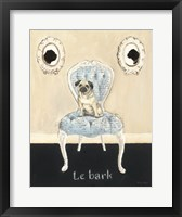 Framed Le Bark