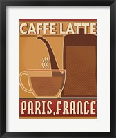 Framed Deco Coffee III