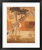 Framed Animals on Safari I